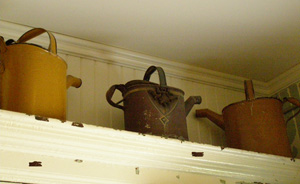 Watering Cans - The Potting Shed at Blantyre, Lenox, Massachusetts, USA - Photo by Luxury Experience